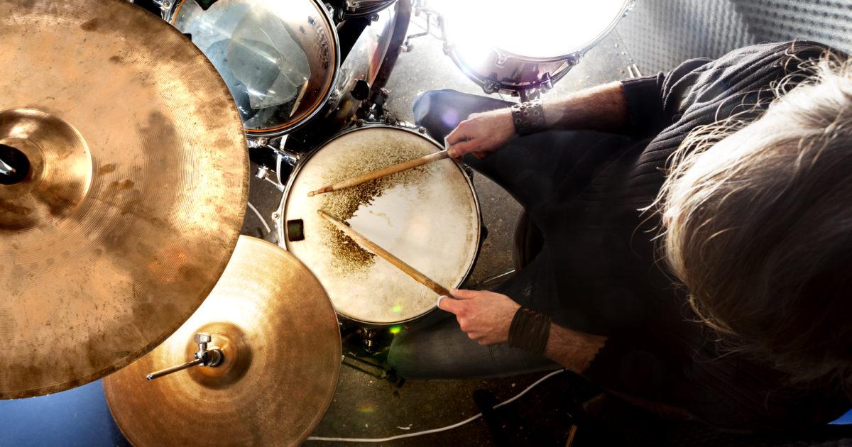 ドラムのミックス